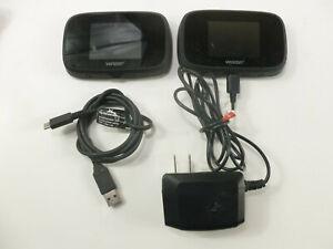 Verizon Jetpack NovAtel Mifi 7730L 4G LTE Mobile Hotspot Charger Excellent LOT 2