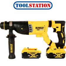 DEWALT 18v XR Brushless Sds-plus Rotary Hammer 2 X 5.0ah