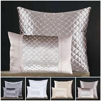 Luxury Soft Crushed Velvet Filled Cushions Small Large Decorative Sofa Cushion