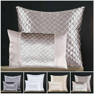 Luxury Soft Crushed Velvet Filled Cushions Small Large Decorative Sofa Cushion