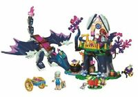 Elves Dragon Rosalyn's Healing Hideout fit Lego Building Blocks kids Toys xmas