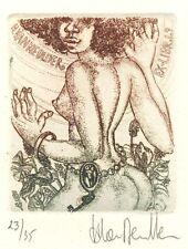 Erotic Ex Libris Harlinde van Meulder : H. van Meulder (23/35)
