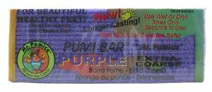 MR.PUMICE PUMI BAR PURPLE SPONGE COURSE - SKIN CALLUS PAD