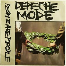 """DEPECHE MODE - PEOPLE ARE PEOPLE & THE MEANING OF LOVE 2 x UK 7"""" 45's. VG++ & VG"""