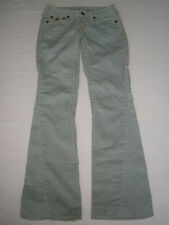TRUE RELIGION JOEY CORDUROY  JEANS SIZE 24  SALE RARE MADE IN USA