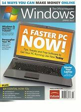 WINDOWS, SPRING, 2012 THE OFFICIAL MAGAZINE ( 14 WAYS YOU CAN MAKE MONEY ONLINE