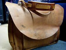 VTG Rare USPS US Leather Mail Postal Carrier Messenger Briefcase Bag XL