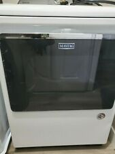 White maytag electric dryer used - wifi enabled