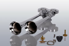 Lkw Druckluft Doppelhorn 38/42cm Zugventil MAN TGL TGM TGS TGX