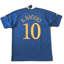 2004/05 Italy Home Jersey #10 ROBERTO BAGGIO 2XL Puma Soccer Farewell Game NEW