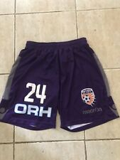 Perth Glory Player Issue March Home Shorts A League  Macron #24
