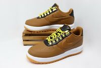 Nike Lunar Force 1 LF1 Duckboot Low Shoes Brown White AA1125-200 Men's NEW