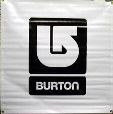 BURTON snowboard 2009 UNINC SQUARE banner BLACK ~NEW old stock~!!