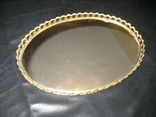 Rare Original Vintage Ornate Mid Century Antique Hollywood Glam Cocaine Mirror