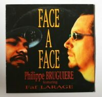 PHILIPPE BRUGUIERE & FAF LARAGE : FACE A FACE (REMIXES) ♦ RAP HIP HOP CD Single