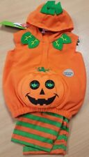 Childrens Pumpkin Costume Halloween Aged 3-6 Months