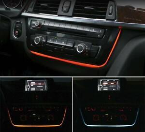 Led Dual Color AC/radio Trim Retrofit For BMW 3 4 Series F30 F31 F34 F32 M3 M4