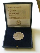 MEDAGLIA ARGENTO SPAGNA 1982 CAMPIONATI DEL MONDO DI CALCIO CON ASTUCCIO