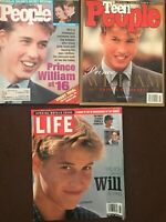 Lot of Prince William 3 magazines:People Weekly, LIFE, Teen People
