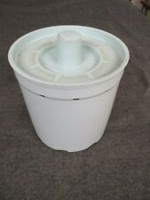 VINTAGE WASHING MACHINE SMALL LOAD BASKET GE BLUE COOR FROM A 1967 WASHER