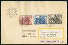 Mayfairstamps VATICAN CITY FDC 1964 COVER SAMARITANUS MISERICORDIA MOTUS EST COM