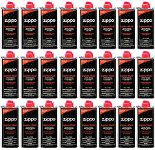 24 Cans Zippo Premium Lighter Fluid 4 fl oz. (118ml) For Zippo Lighters