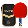 Joy.J Table Tennis Bat with case, Professional Pingpong Racket, TT Paddle with