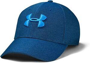 Under Armour Heathered Blitzing 3.0 Training Cap - Blue