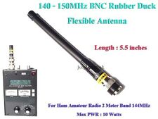 RUBBER DUCK 144MHz Ham Amateur Radio 2 Meter Handy Handheld BNC FLEXIBLE ANTENNA