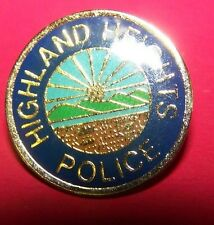 Highland Heights Police Lapel Pin/Tie Tack
