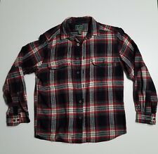 Woolrich Buffalo plaid shirt Check Red Black Outdoors Woolrich mens shirt medium
