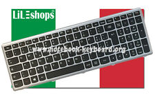 Tastiera Italiano Originale Lenovo NSK-BMPST 9Z.NAFST.P0E 25213653 PK130T22A17