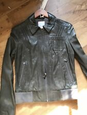 Bnwt Diesel Leather Jacket Size 12/14