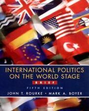 International Politics on the World Stage, Brief , Rourke, John T.