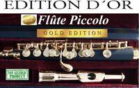 Piccolo Gold 24kt  Flautin ORO OTTIVANI, FLAUTO ORO  Flûte Piccolo de OR