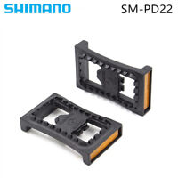 Shimano SM-PD22 SPD Cleat Flat Pedal For M520 M540 M780 M980 Clipless Pedals