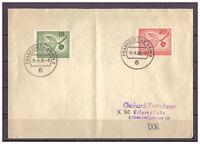 BRD, MiNr. 483 - 484 Frankurt am Main nach Erfurt 06.06.1966 TSt
