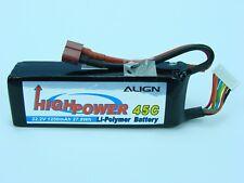 Align 1250mAh 6S 45C 22.2V LiPo Battery Deans plug  High Power
