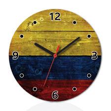 Relojes De Pared Analogico De Madera De Dibujos Animados Ebay