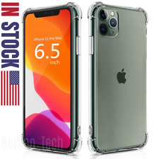 Clear Case For iPhone 11 Pro Max SE XR 8 6s Plus Soft Silicone Shockproof Cover
