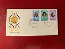 ST LUCIA 1981 FDC PRINCE CHARLES PRINCESS DIANA WEDDING ROYALTY