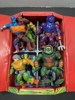 VINTAGE MOTU. MASTERS OF THE UNIVERSE, HE-MAN FIGURE LOT With Case !!!!
