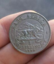 1 SHILLING 1950 GIORGIO VI EAST AFRICA COLONIE INGLESI