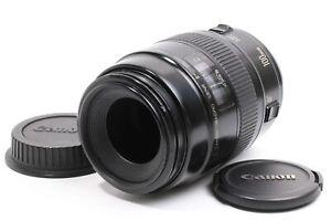 [EXCELLENT Canon MACRO LENS EF 100mm f/2.8 (5409)