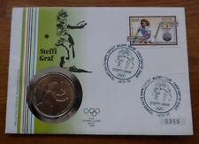 Numisbrief 1987 Niue --Steffi Graf--