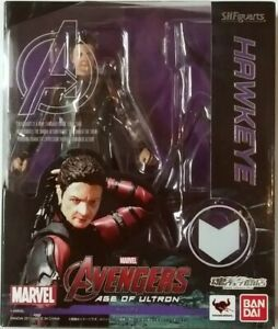 Bandai S.H.Figuarts Marvel Avengers Age of Ultron Hawkeye US Seller AUTHENTIC