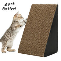 Cat Corrugated Scratcher Pet Claw Scratching Board Bed Toy Post