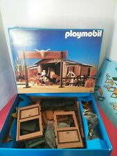 Playmobil 3768 WESTERN SILVER RANCH  one owner  very nice