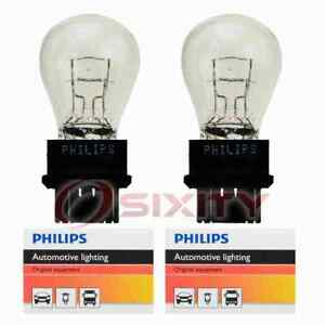 2 pc Philips Front Turn Signal Light Bulbs for Saturn Vue 2007 Electrical rq