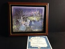 Dream Castles Trust Third Issue Plate Mimi Jobe Coa with frame
